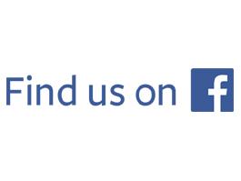 find us on Facebook 265 x 199
