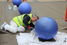 painting the broadmead balls 14 April 2015 220 x 148