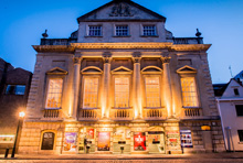 Bristol Old Vic King St main exterior night bid web